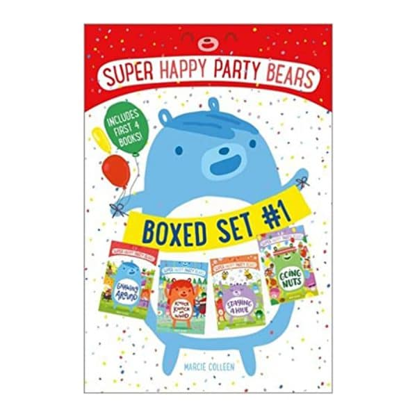 Super Happy Party Bears Boxed Set #1: Gnawing Around; Knock Knock on Wood; Staying a Hive; Going Nuts