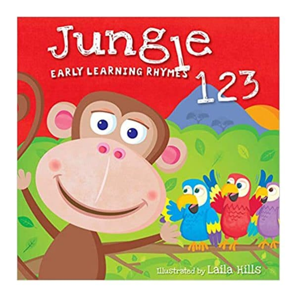 Jungle 123 Board book