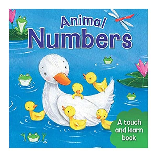 Animal Numbers Board book – Touch and Feel