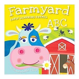 Farmyard ABC Board book