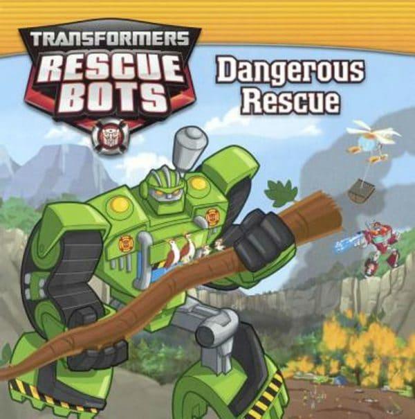 Transformers Rescue Bots Dangerous Rescue