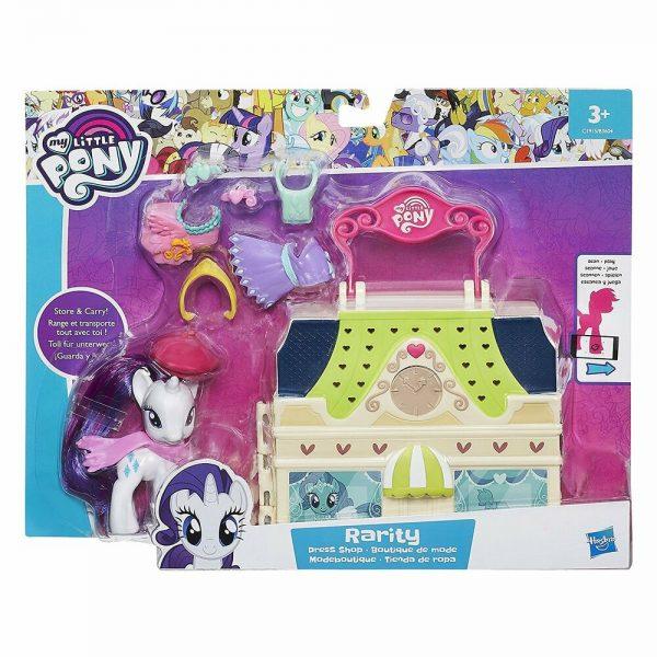 My Little Pony Equestria Rarity Dress Shop