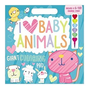 I Love Baby Animals Paperback