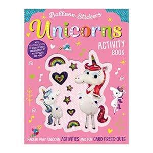 Unicorns: Balloon Sticker Activity Book Paperback