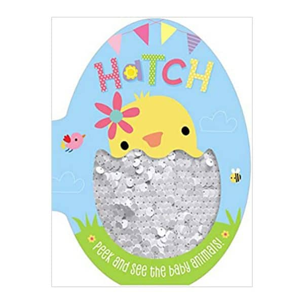Hatch: Peek and See the Baby Animals! Board book
