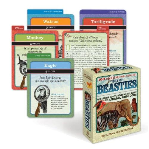 Box of Beasties 100 BeWILDering Trivia Flashcards