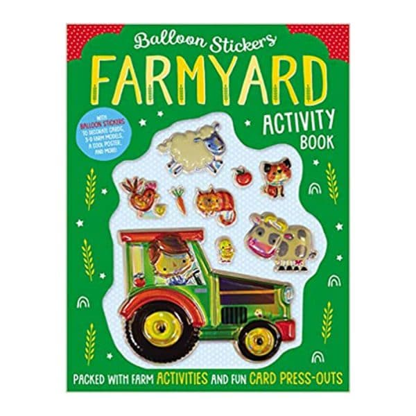 Farmyard Activity Book Paperback