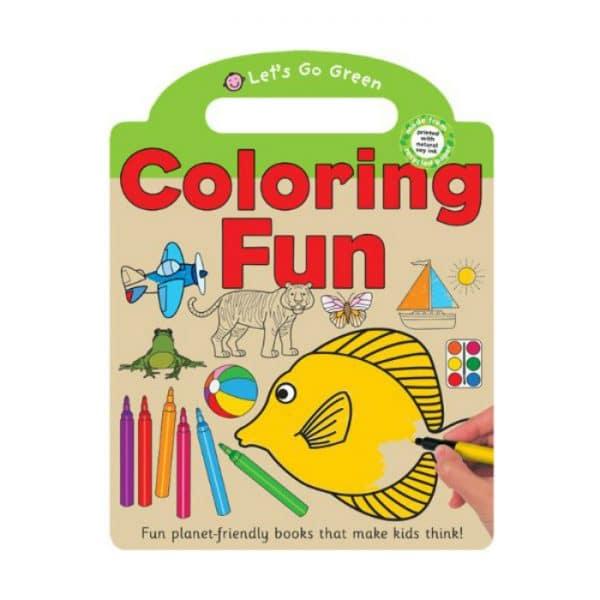 Coloring Fun Lets Go Green