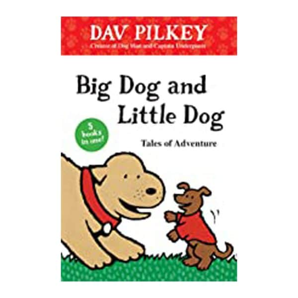 Big Dog and Little Dog Tales of Adventure (5 books in 1) Hardcover