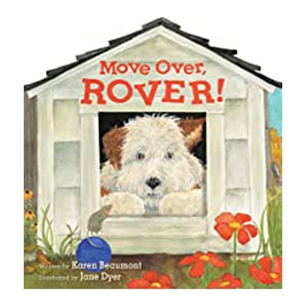Move Over, Rover! (shaped board book)