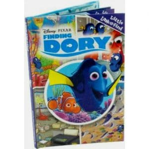 Finding Dory Look and Find PI Kids