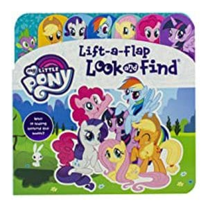 My Little Pony Lift a Flap Look and Find Board Book