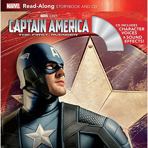 Captain America The First Avenger Read Along Storybook and CD