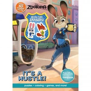 Disney Zootopia Activity Book With Eraser Its A Hustle