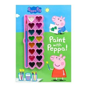 Peppa Pig: Paint with Peppa! Paperback