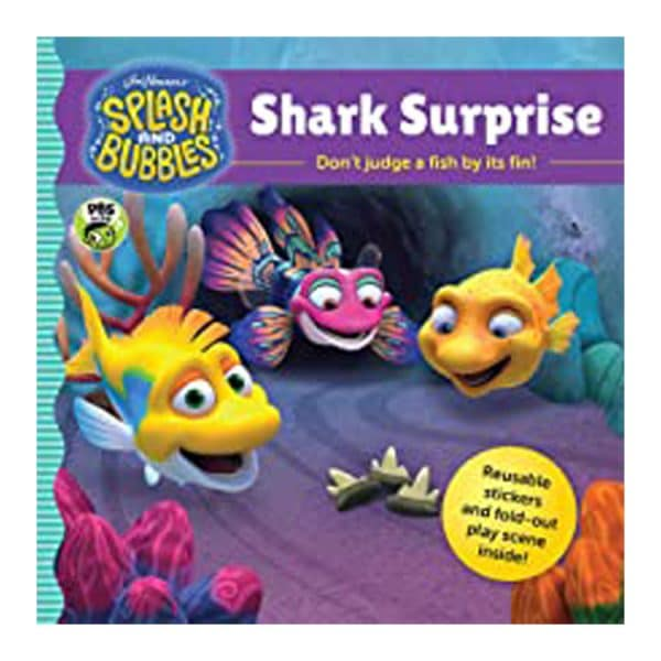 Splash and Bubbles: Shark Surprise with sticker play scene Paperback