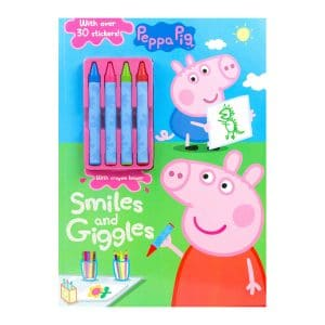 Peppa Pig Smiles and Giggles Paperback
