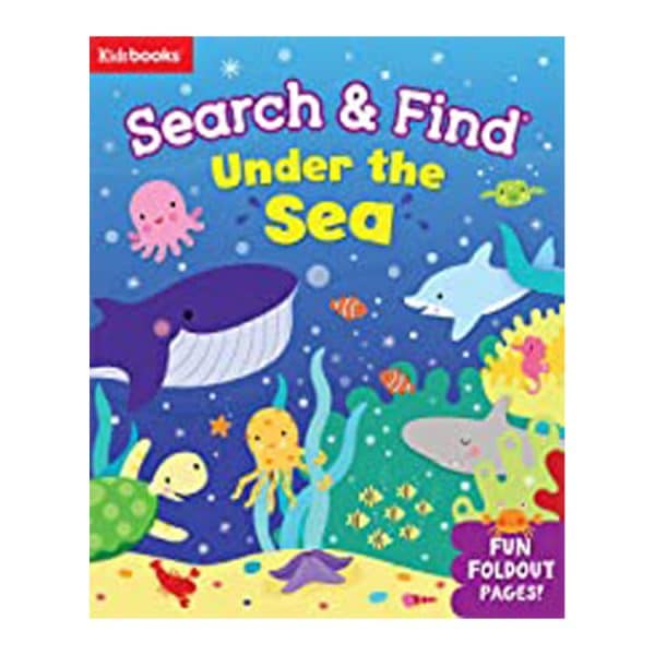 Search & Find: Under the Sea With Fun Foldout Pages! Board book