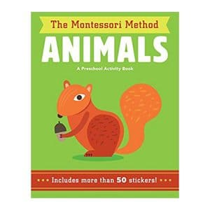 Animals (The Montessori Method) A Preschool Activity Book Paperback