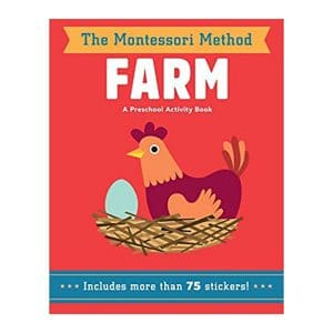 Farm (The Montessori Method) A Preschool Activity Book Paperback