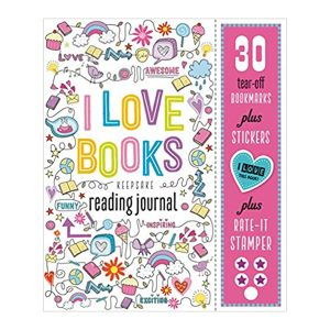 I Love Books Keepsake Reading Journal