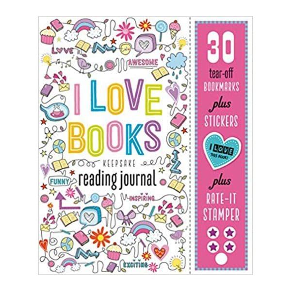 I Love Books Keepsake Reading Journal