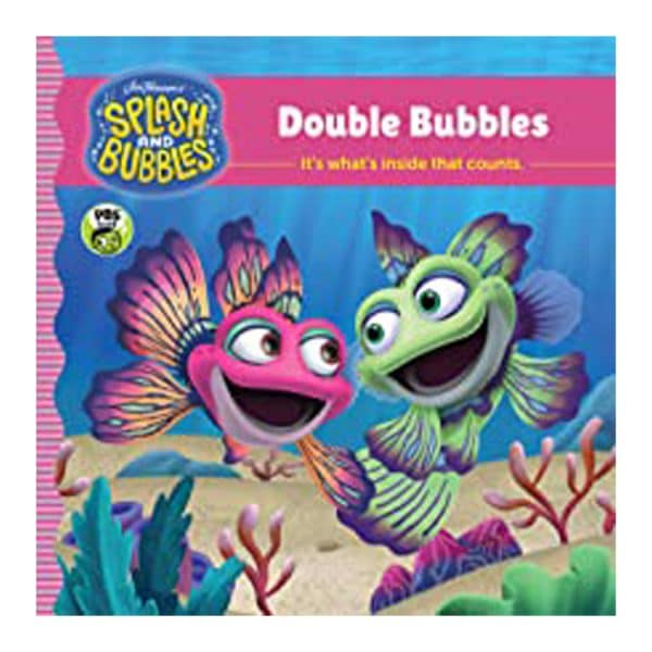 Splash and Bubbles: Double Bubbles with sticker play scene Paperback