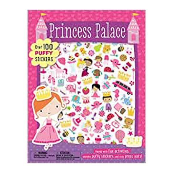 Princess Palace Puffy Sticker Activity Book Paperback