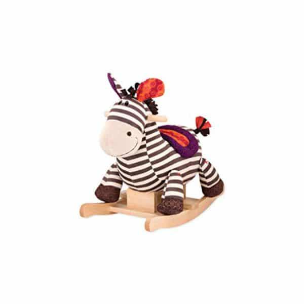 Zebra Rodeo Rocker
