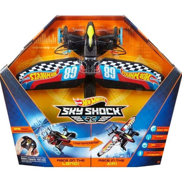 Hot Wheels Sky Shock RC Race Design