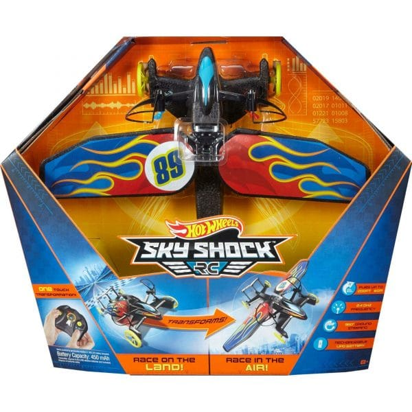 Hot Wheels Sky Shock RC Flame Design