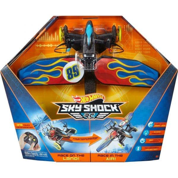 Hot Wheels Sky Shock RC Flame Design