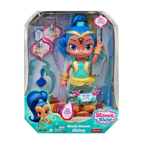 Shimmer and Shine Genie Dance Doll Shine