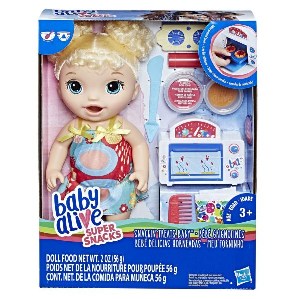 Baby Alive Snackin Treats Baby Blonde
