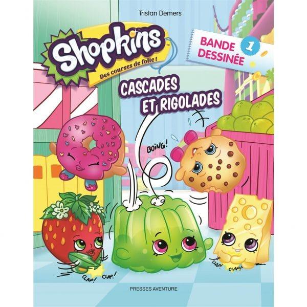 Cascades et Rigolades Bande dessinée 1 Shopkins