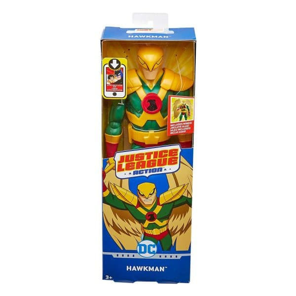Justice League Action Style Hawkman 12 inch Figure