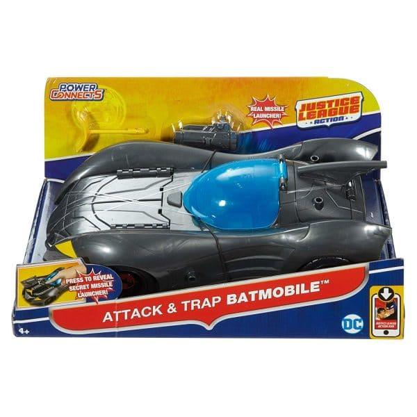 Justice League Attack & Trap Batmobile