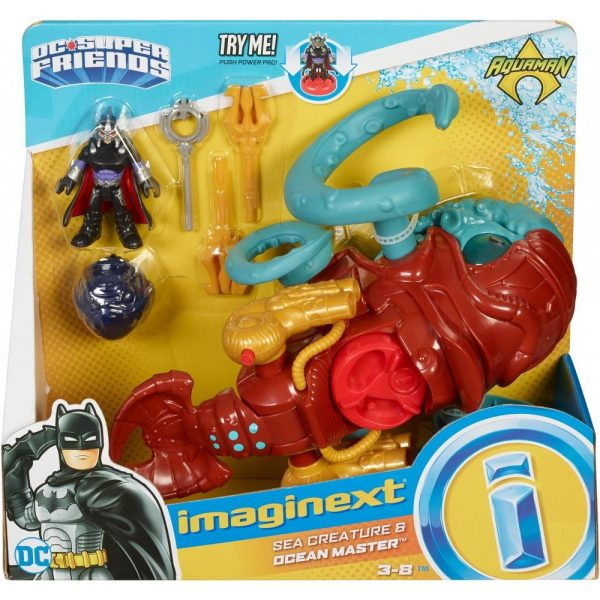 Imaginext DC Super Friends Sea Creature n Ocean Master