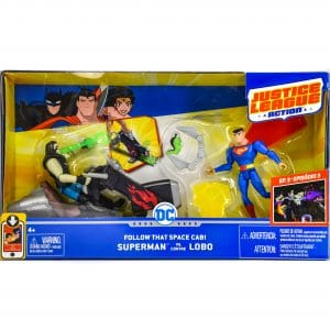 Justice Leauge Action Superman vs Lobo Playset