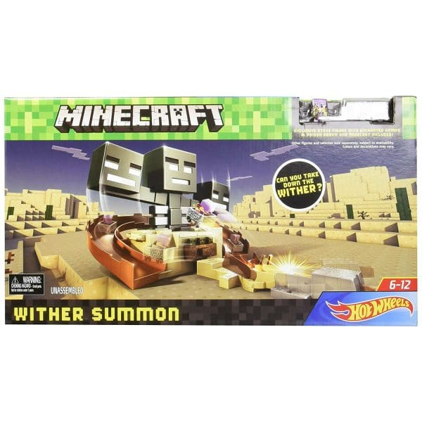 Hot Wheels Minecraft Wither Summon Playset