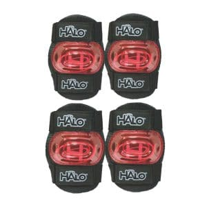 Halo Protective 4 piece Pad Set S/M (Assorted Colours)