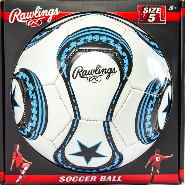 Rawlings Soccer Ball Size 5 (assorted colours)