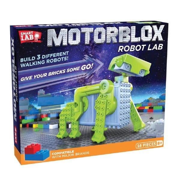 Motorblox Robot Lab Science Kit 16 Pieces