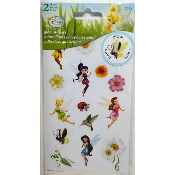 Disney Fairies Glow In The Dark Stickers