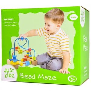Wooden Stacking Bead Maze