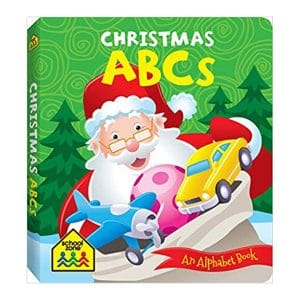 Christmas ABCs Board book