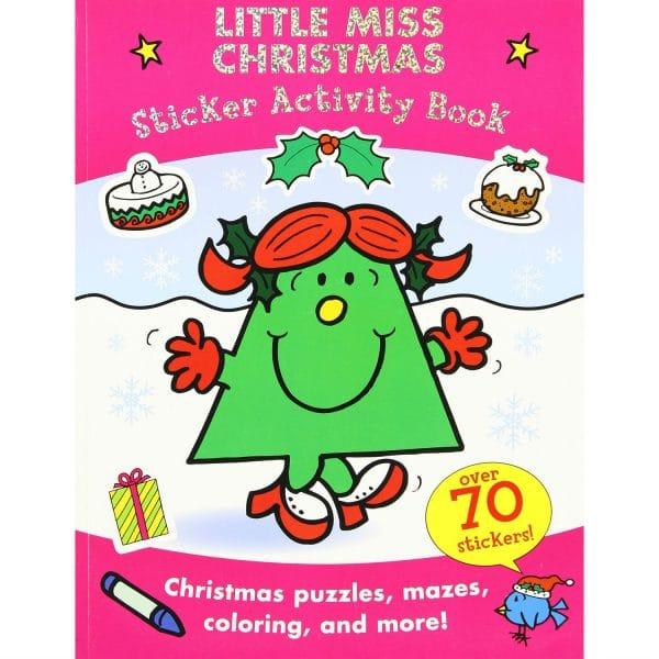 Little Miss Christmas Sticker Activity Book