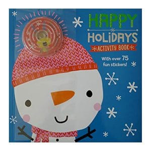 Happy Holidays Activity Book Paperback