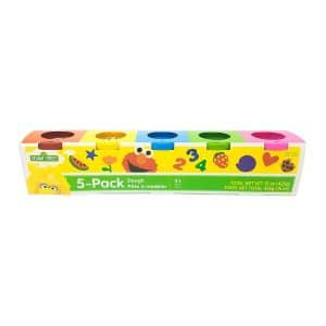 Sesame Street 5 Pack Dough (3 oz)