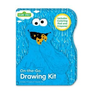 Sesame Street Cookie Monster On-the-Go Drawing Kit